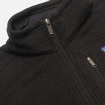Мужской свитер Patagonia Better 1/4-Zip Fleece Black фото- 3
