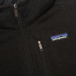 Мужской свитер Patagonia Better 1/4-Zip Fleece Black фото- 2