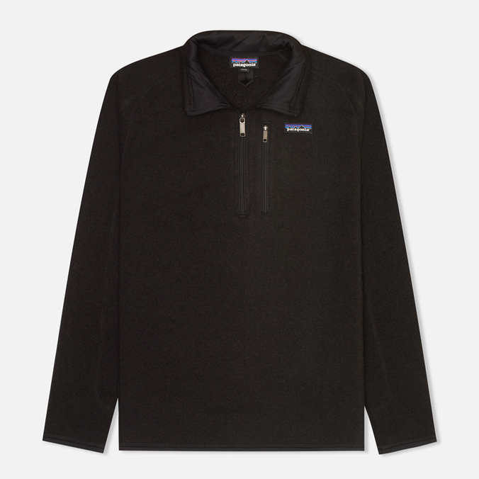 Мужской свитер Patagonia Better 1/4-Zip Fleece Black