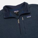 Мужской свитер Patagonia Better 1/4-Zip Fleece Classic Navy фото- 1