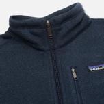 Мужской свитер Patagonia Better 1/4-Zip Fleece Classic Navy фото- 2