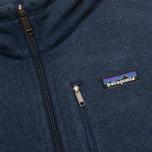 Мужской свитер Patagonia Better 1/4-Zip Fleece Classic Navy фото- 3