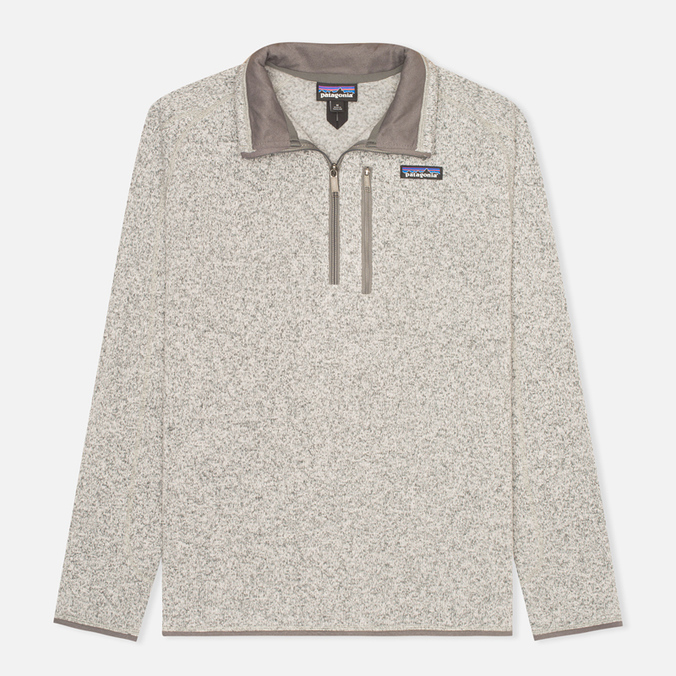 Мужской свитер Patagonia Better 1/4-Zip Fleece Stonewash