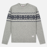 Penfield Hickman Snowflake Men's Sweater Grey photo- 0