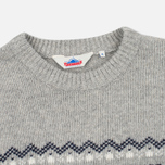 Penfield Hickman Snowflake Men's Sweater Grey photo- 1