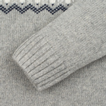 Penfield Hickman Snowflake Men's Sweater Grey photo- 3