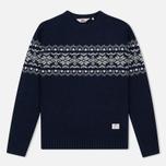 Мужской свитер Penfield Hickman Snowflake Navy фото- 0