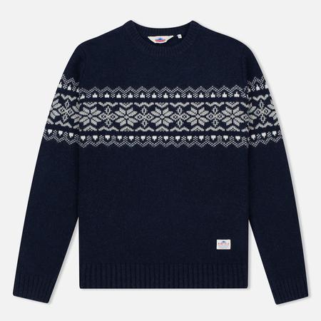 Мужской свитер Penfield Hickman Snowflake Navy