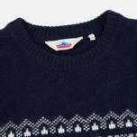 Мужской свитер Penfield Hickman Snowflake Navy фото- 1
