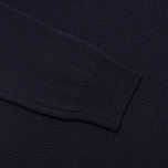 Мужской свитер Pringle of Scotland Contrast V Knit Navy фото- 3