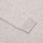 Pringle of Scotland Lion Intarsia Round Neck Men's Sweater Grey photo- 2