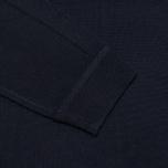 Мужской свитер Pringle of Scotland Mock Reverse Navy фото- 2
