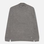 Pringle of Scotland Mock Reverse Men's Sweater Oxford Grey photo- 0