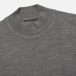 Pringle of Scotland Mock Reverse Men's Sweater Oxford Grey photo- 1