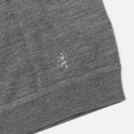 Pringle of Scotland Mock Reverse Men's Sweater Oxford Grey photo- 3