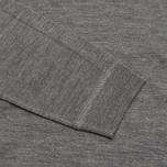 Pringle of Scotland Mock Reverse Men's Sweater Oxford Grey photo- 2