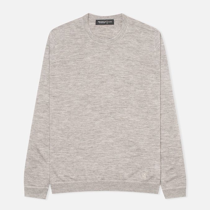 Pringle of Scotland Reverse Men's Sweater Grey