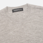 Pringle of Scotland Reverse Men's Sweater Grey photo- 1