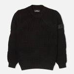 Мужской свитер Stone Island Shadow Project Crewneck Nyco Black фото- 0