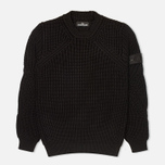 Stone Island Shadow Project Crewneck Nyco Men's Sweater Black photo- 0