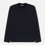 Мужской свитер Stone Island Shadow Project Knitwear Double Face Navy Blue фото- 0