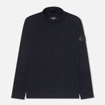 Stone Island Shadow Project Knitwear Men's Sweater Navy Blue photo- 0