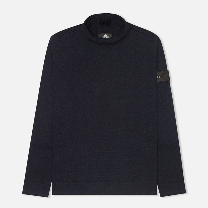 Stone Island Shadow Project Knitwear Men's Sweater Navy Blue