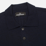 Мужской свитер Stone Island Shadow Project Knitwear Pull Navy Blue фото- 1