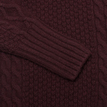 Barbour Beckwith Women's Sweater Bordeaux photo- 2