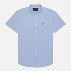 Мужская рубашка Lyle & Scott Light Weight Slub Oxford Short Sleeve Riviera