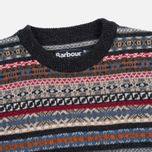 Barbour Martingale Crew Men's Sweater Charcoal photo- 1