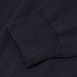 Мужской свитер Fred Perry Classic Tipped Crewneck Navy фото- 3
