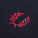Мужской свитер Fred Perry Classic Tipped Crewneck Navy фото- 2