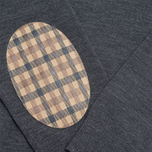 Мужской свитер Aquascutum Patch Crew Neck Grey фото- 2