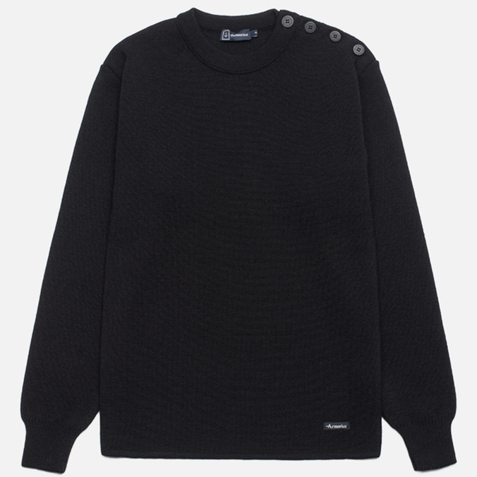 Armor-Lux Pull Marin Uni Fouesnant Sweater Black