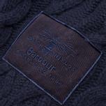 Мужской свитер Barbour Burl Crewneck Navy фото- 3