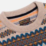 Мужской свитер Barbour Caistown Fair Isle Barley фото- 1