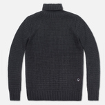 Мужской свитер Barbour Croft Rollneck Navy фото- 0