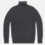 Мужской свитер Barbour Croft Rollneck Storm Grey фото- 0