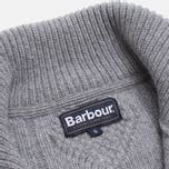 Мужской свитер Barbour Kirktown Cable Button Grey Marl фото- 5