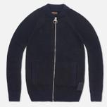 Barbour Lowestoff Zip Sweater Navy photo- 0
