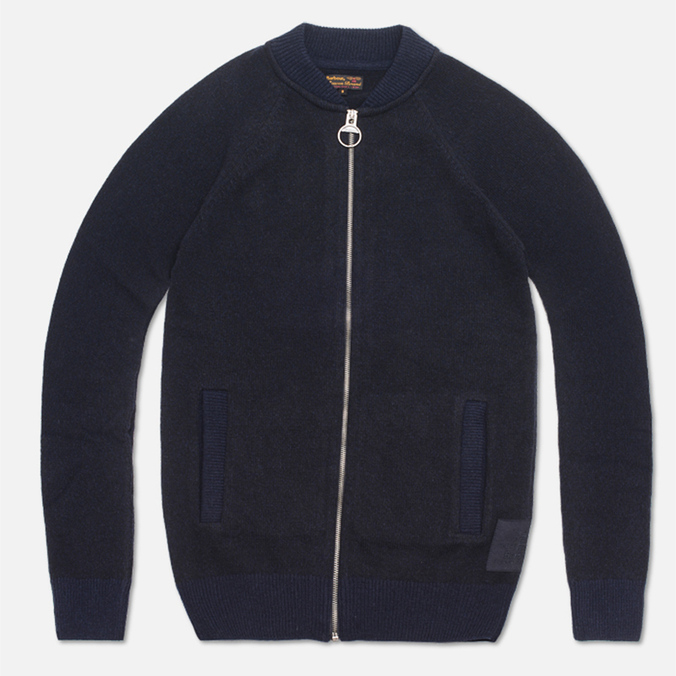 Мужской свитер Barbour Lowestoff Zip Navy