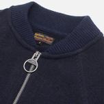 Barbour Lowestoff Zip Sweater Navy photo- 1