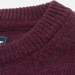 Barbour Patch Crew Sweater Merlot photo- 3
