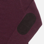 Barbour Patch Crew Sweater Merlot photo- 4
