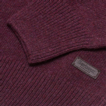 Barbour Patch Crew Sweater Merlot photo- 2
