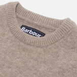 Мужской свитер Barbour Patch Crew Stone фото- 1