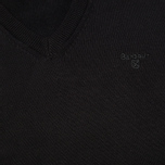 Мужской свитер Barbour Pima V Neck Black фото- 2