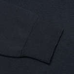 Barbour Pima V Neck Sweater Navy photo- 3