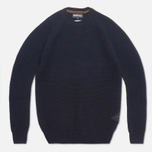 Barbour Riverton Sweater Navy photo- 0